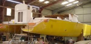 chantier navale construction de catamarans NAVIVOILE sur mesure