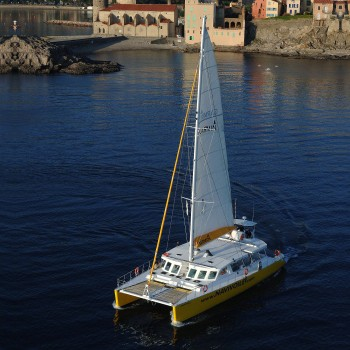 construction de catamarans navivoile 20m