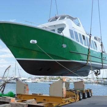 GIPSY XX construction de bateaux de servitude