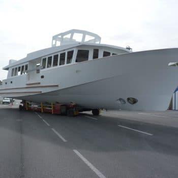 constructeur de bateaux de servitude 29m
