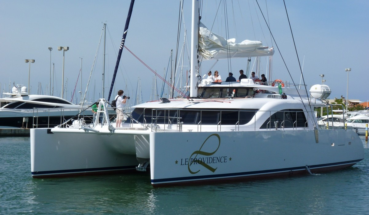Catamaran transport de passagers
