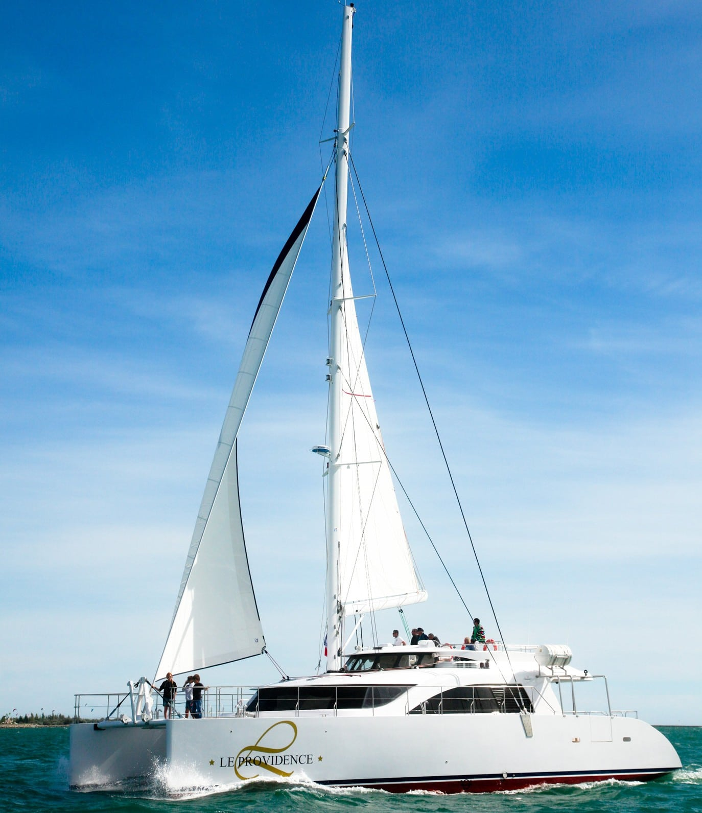 Catamaran de 20 m - Le Providence 2