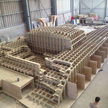 construction moule navire