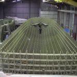 construction navire sur moule
