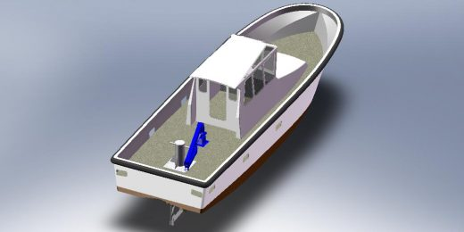 chantier navale construction sur moule