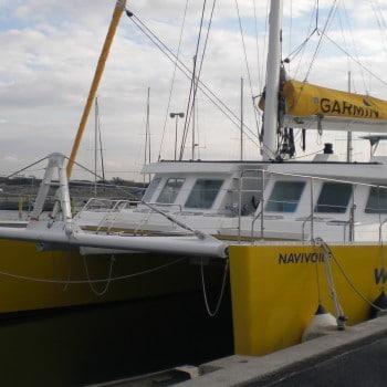 construction de catamarans navivoile de 22m pour passagers