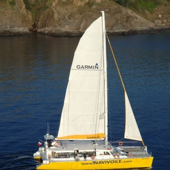 construction de catamarans navivoile