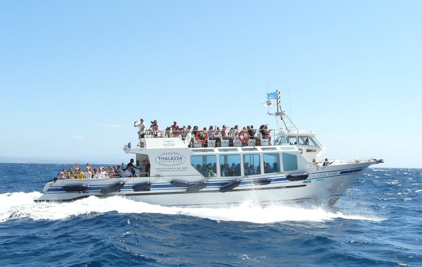 Vedette de transport de passagers THALASSA STAR