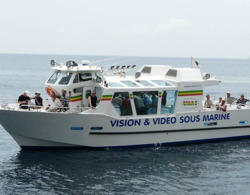 construction sur mesure vedette vision sous marine