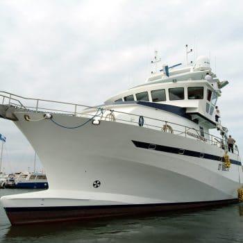 construction navire de pêche