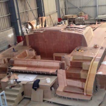 chantier navales construction sur moule