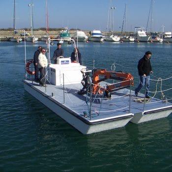 construction de barges portuaires
