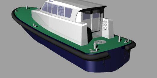 Spécialiste de la construction de bateaux de servitudes