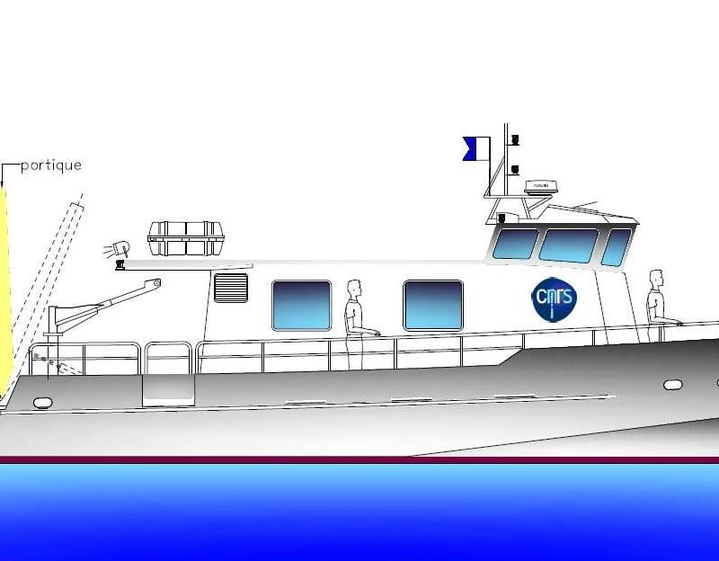 navires de recherches scientifique
