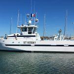 catamaran de pêche