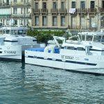 livraison d'un catamaran du chantier naval martinez